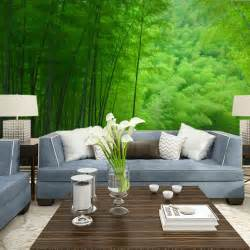 attractive modern living room interior decorating ideas with trendy wallpaper iwemm7