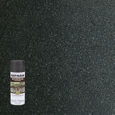 rust oleum stops rust 12 oz protective enamel hammered black spray paint 7215830 the home depot