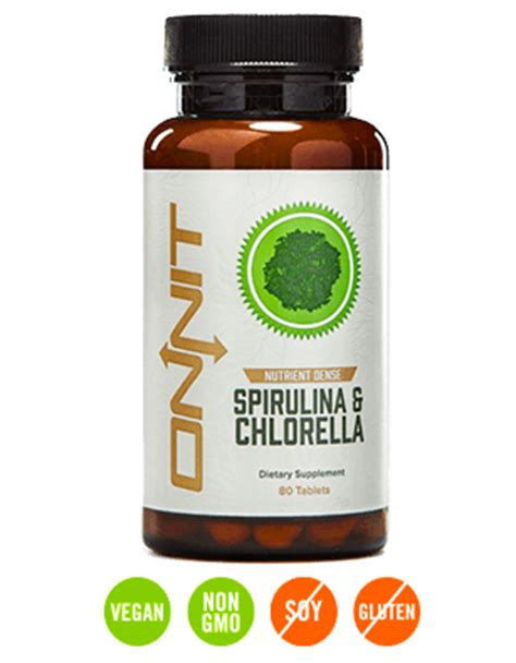 Shroom Detox spirulina chlorella by onnit at bodybuilding best