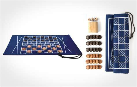 Checkers Bag backgammon and checkers travel bag lumberjac