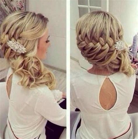Debs Hairstyles Diy | prom hairstyles for long hair side braids jpg women