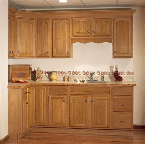 classic oak cathedral panel discount wood cabinets
