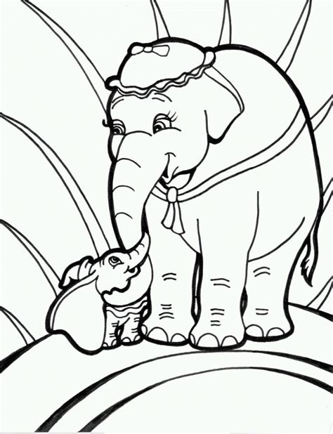 elephant coloring page free free printable elephant coloring pages for kids