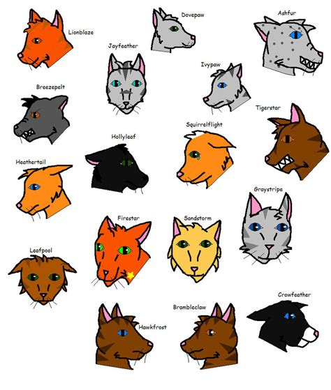 theme names for kittens warriors cats and theme songs by catsrockmysox8 on deviantart