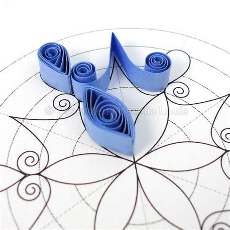 paper quilling tutorial pdf free download paper zen quilling snowflake pattern arctic