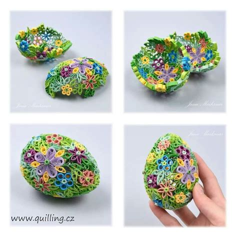 Quilling Egg Tutorial | quilled egg quilling pinterest egg and quilling