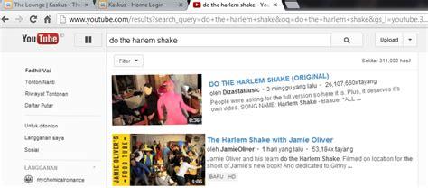 Membuat Youtube Harlem Shake | ketik do the harlem shake di youtube dan lihat apa yang