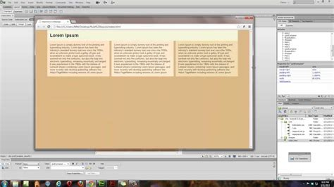 dreamweaver tutorial fluid grid layout dreamweaver cs 6 tutorial fluid grid layout part 1