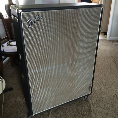Fender 2x12 Cabinet by 1968 Fender 2x12 Quot Drip Edge Bandmaster Cabinet Reverb