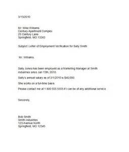 Confirmation Letter For Staff 40 Proof Of Employment Letters Verification Forms Sles