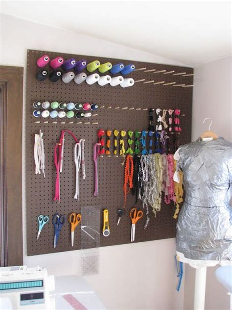 sewing room pegboard ideas 17 best ideas about pegboard craft room on craft room design craft room desk and