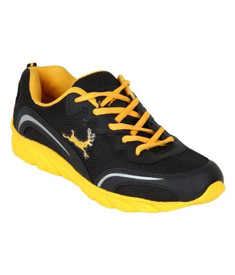 randier black and yellow sports shoes buy randier black