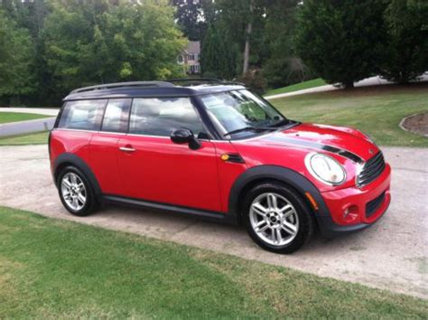 security system 2011 mini cooper clubman regenerative braking buy used 2011 mini cooper clubman wagon 3 door 1 6l in suwanee georgia united states for us
