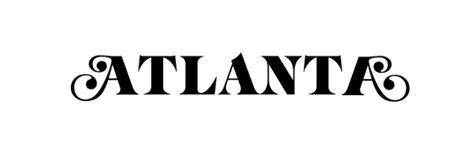 atlanta tv show font