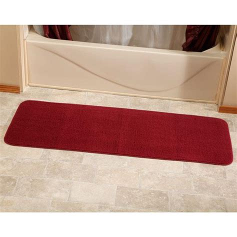 bathroom rug runners 60 quot bathroom rug runner long bath mat rugs
