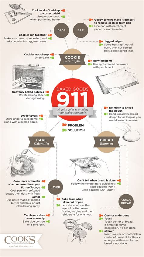 cooking infographics how to bake help with baking in this baking 101 infograph