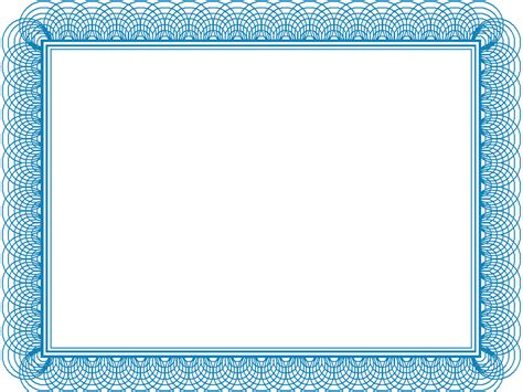 high resolution certificate template design blue certificate templates blank