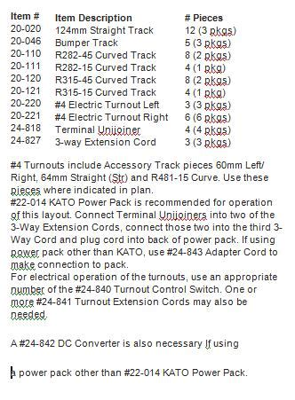 kato n scale quot cheap nothing wasted ii quot unitrack layout kato track plan 001 cheap nothing wasted ii
