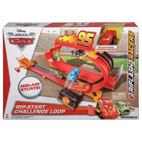 challenge loop pista carros mattel rip start challenge loop riplash