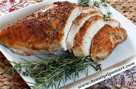 the best way to cook a turkey breast in the oven at home