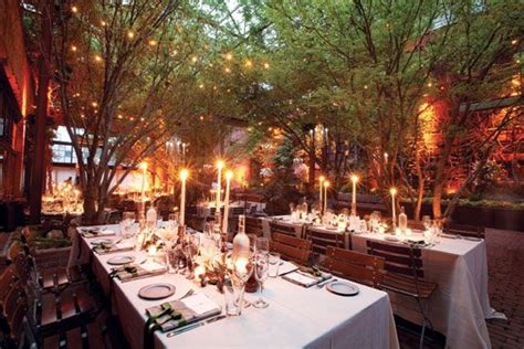 york wedding guide  reception indoor outdoor