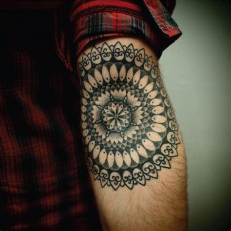 Mandala Tattoo Inner Elbow | mandala inner elbow tattoos pinterest