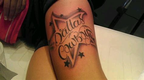 dallas cowboy tattoos dallas cowboys tattoos dallas