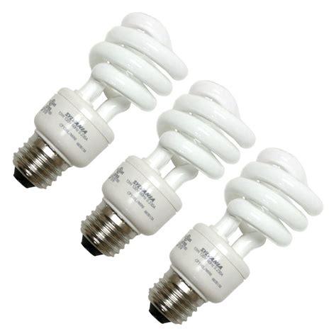 sylvania fluorescent light bulbs sylvania 26371 cf13el spiral 827 3pk twist medium