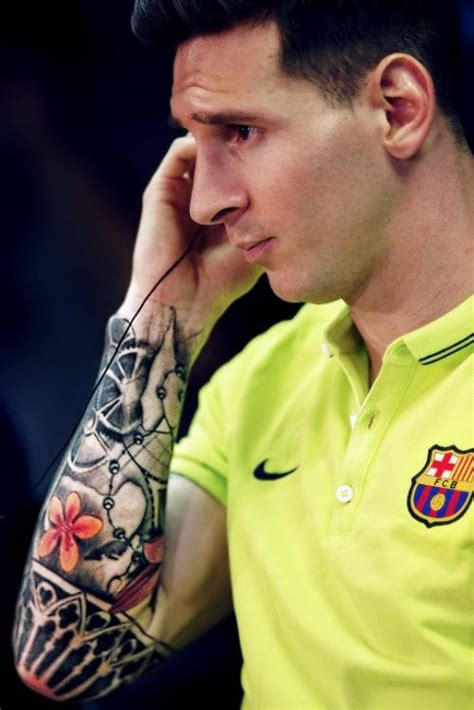 lionel messi sleeve tattoo lionel messi his tattoos and what they tattoodo