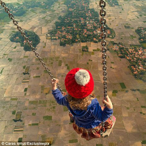 swinging he surreal images created by romanian photoshop artist caras