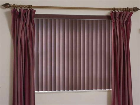 curtains with vertical blinds curtains and window blinds ideas