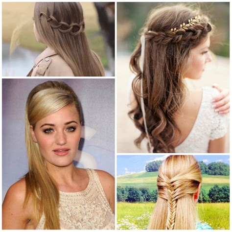 hairstyles and ideas half updo hairstyles 21 gorgeous half up half down