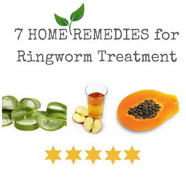 top 7 home remedies for ringworm