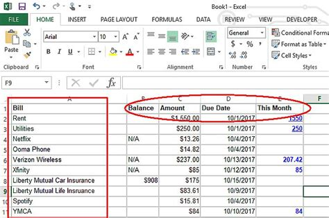 Make A Personal Budget On Excel In 4 Easy Steps How To Make A Personal Budget Template