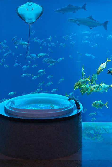 Suite Neptune Underwater Hotel Underwater The Neptune Suite At Atlantis The Palm