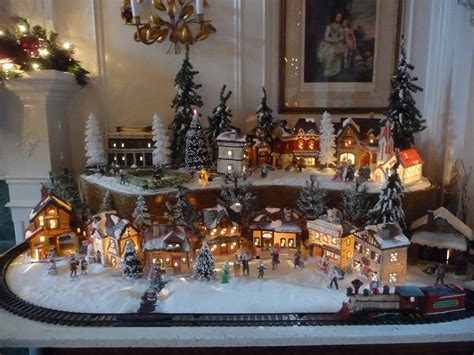 christmas village sets heirlooms welcome to my christmas home tour 2010