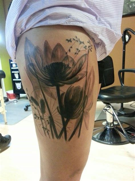 iron lotus tattoo x flower by jeremiah klein at iron lotus