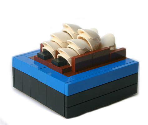 Miniatur Opera House Sidney sydney opera house in miniature the brothers brick the