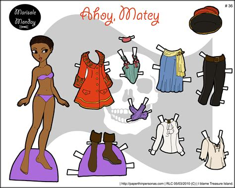 Friends Paper Dolls - marisole monday friends paper thin personas part 16