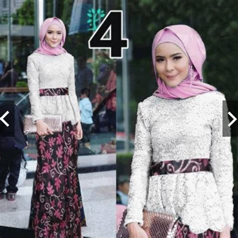 Twiscone Cape Maxi Dress harga kebaya brokat muslim terbaru 2018 hargatbaru