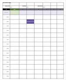 Daily Calendar Template Pdf Daily Calendar Template 4 Free Word Pdf Documents