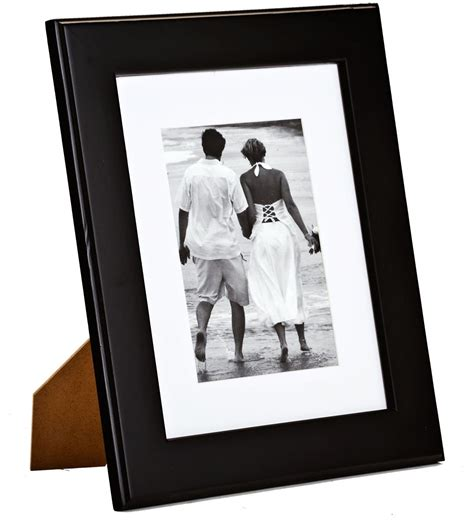 10 X 10 Wood Picture Frame W Mat by Black Picture Frame With Mat 8 Quot X 10 Quot Matted Photos