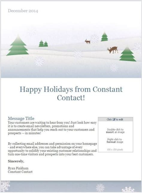 email templates  drive results  holiday season business  community