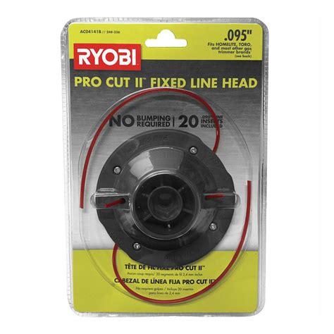 ryobi universal pro cut ll   fixed  string