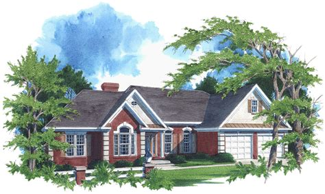 luxurious home plans luxurious ranch home plan 2027ga architectural designs