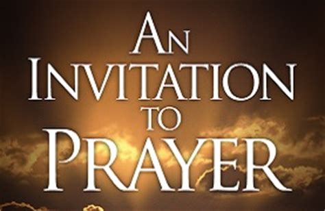 Sle Invitation For Prayer Meeting Elk Grove Church Of