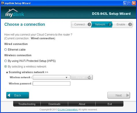 mydlink ip address how to setup the d link dcs 942l with camcloud