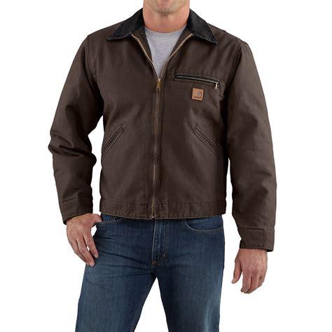 Carhartt Sandstone Detroit Jacket Blanket Lined by Carhartt Sandstone Detroit Jacket For