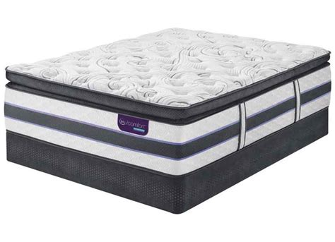 Serta King Pillow Top Mattress by Serta Hb500q Pillow Top Mattress Set Furniture