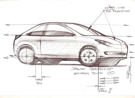 tutorial design car car sketch tutorial sle car design education tips